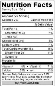nutrisi bawang putih