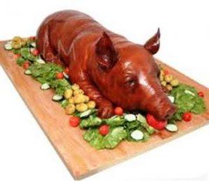 manfaat daging babi
