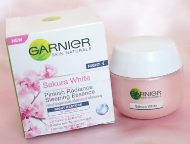 34 Manfaat Garnier Sakura White – Night – Day – Foam – Mask